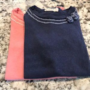 J.Crew tee shirts. Size small